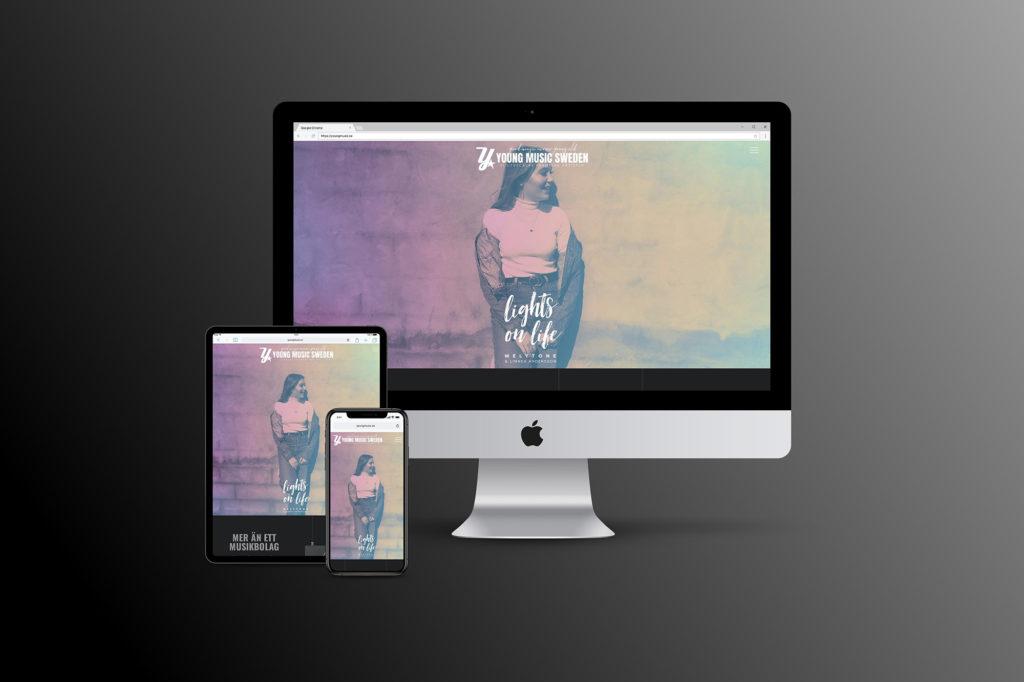 Äntligen en ny webbsida!